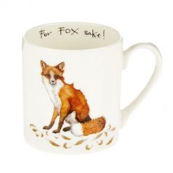 At Home In The Country Fine Bone China Mug - For Fox Sake!