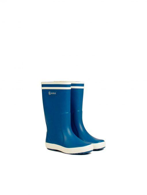 Aigle Baby Flac Children's Rain Boots - Saphir