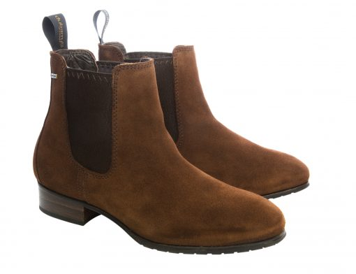 Dubarry Cork Suede Boot - Russet