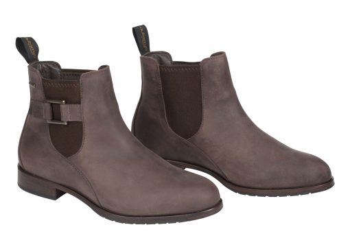 Dubarry Monaghan Leather Soled Boot - Old Rum