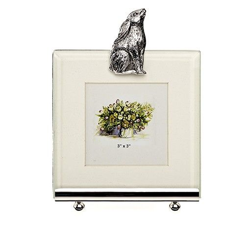 At Home In The Country Photo Frame - Moongazing Hare