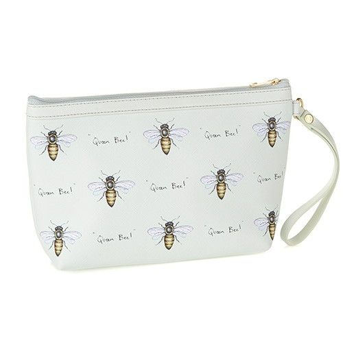 At Home In The Country Make Up Bag - Queen Bee