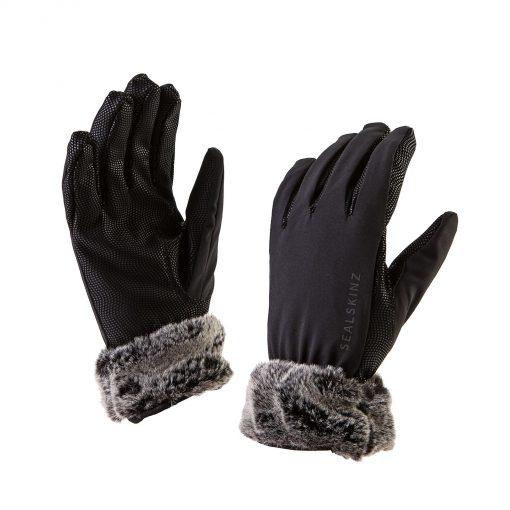 Sealskinz Ladies Luxe Gloves - Sea Leopard