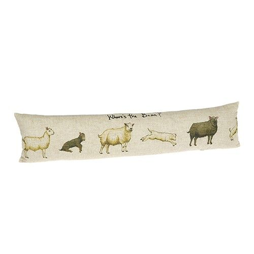 At Home In The Country Draught Excluder - Where's The Baaa!