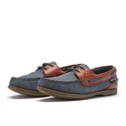 Chatham Bermuda Lady ll G2 Boat Shoes - Navy / Seahorse