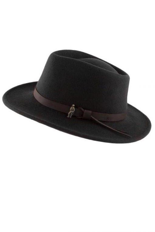 Jack Murphy Boston Hat - Black