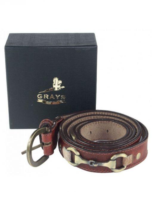 Grays Maple Belt - Natural
