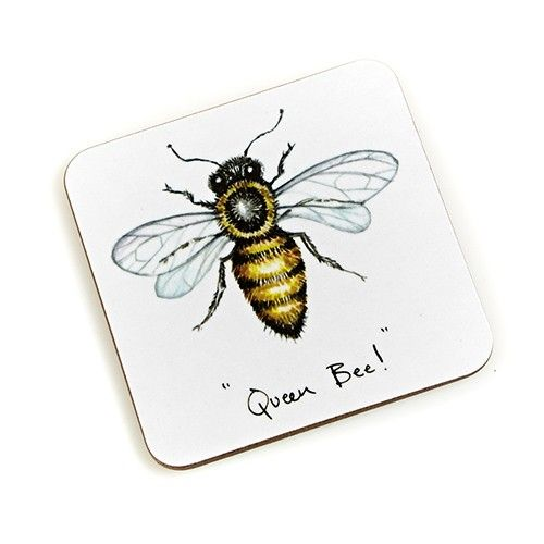 At Home In The Country Coaster - Queen Bee