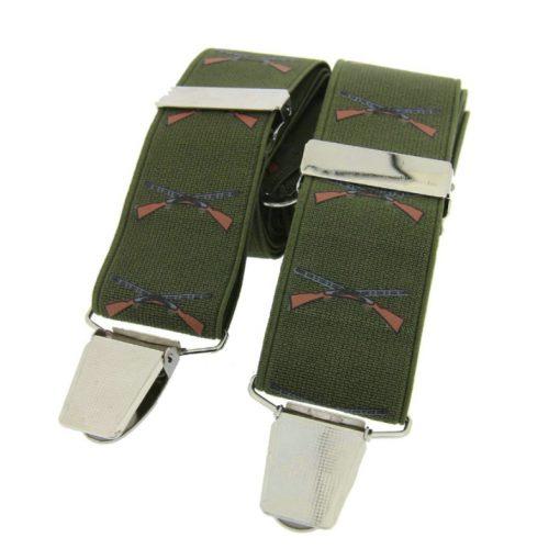 Soprano Shotgun Braces - Green