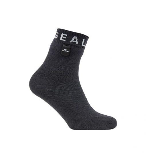 Sealskinz Super Thin Ankle Sock - Grey/White