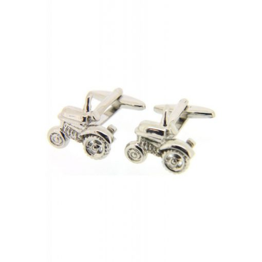 Soprano Tractor Cufflinks - Silver