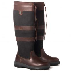 Dubarry Galway Country Boot - Black/Brown Extra Fit