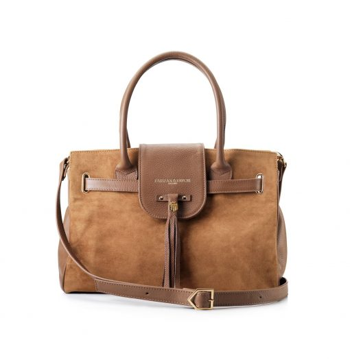 Fairfax & Favor Windsor Handbag - Tan