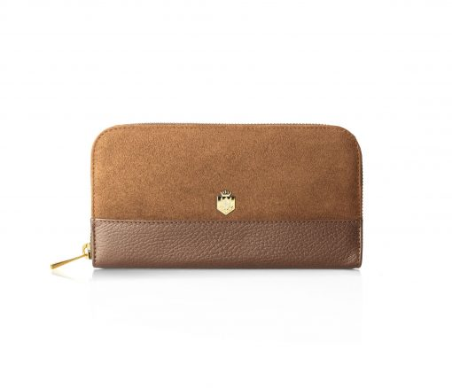 Fairfax & Favor The Salisbury Purse - Tan