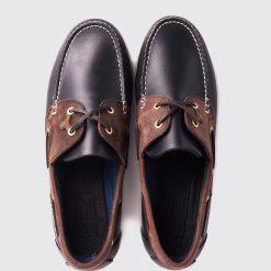 Dubarry Sailmaker X LT Deck Shoe - Navy / Brown