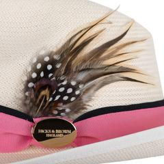 Hicks & Brown The Holkham Luxe Ladies Panama - Pink