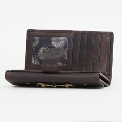 Hicks & Hides Hidcote Cartridge Purse - Brown