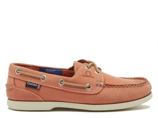Chatham Pippa ll G2 Leather Boat Shoes - Coral