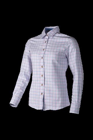 Baleno Nina Check Shirt - Pink Blue