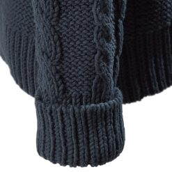 Musto Hollie Chunky Cable Knit Jumper - True Navy