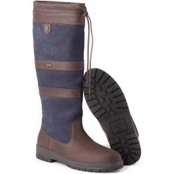 Dubarry Galway Country Boot - Navy/Brown