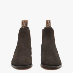 Comfort Craftsman Boot Suede - Chocolate