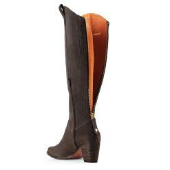 Fairfax & Favor Knee High Rockingham Suede Boot - Chocolate