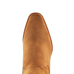 Fairfax & Favor Knee High Rockingham Suede Boot - Tan