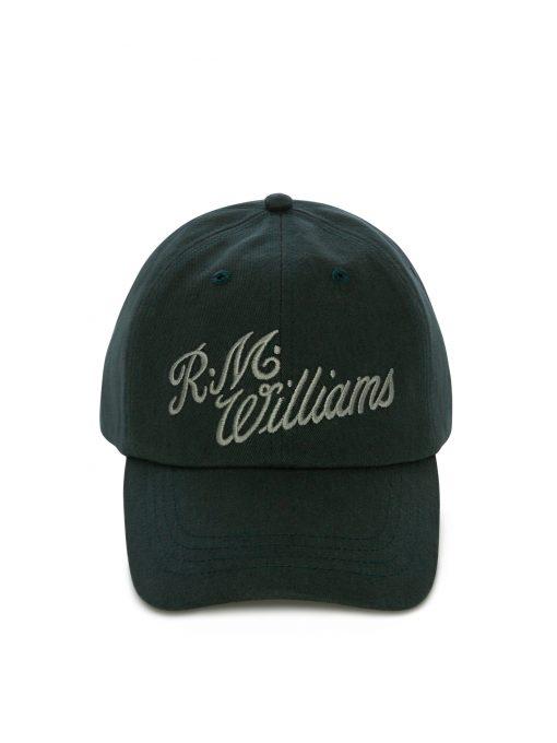 R.M Williams Script Cap - Petrol