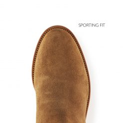Fairfax & Favor The Heeled Regina Suede Boot Sporting Fit - Tan