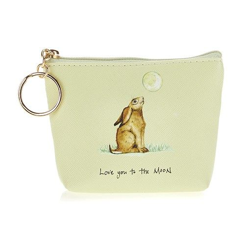 At Home In The Country Coin Purse - Love You To The Moon