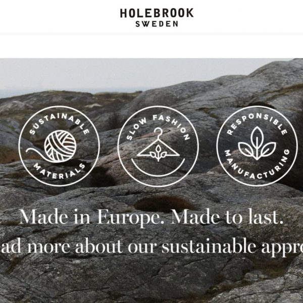 Ruffords Country Store would like to introduce 'HOLEBROOK SWEDEN'