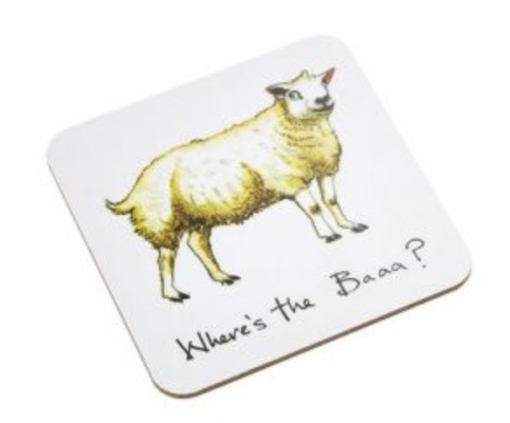 At Home In The Country Coaster - Where's The Baa