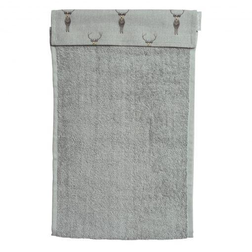 Sophie Allport Roller Hand Towel - Highland Stag