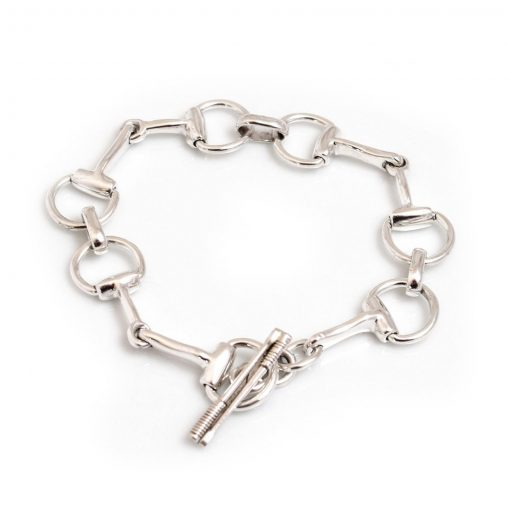 Hiho Silver Snaffle Bracelet - Silver