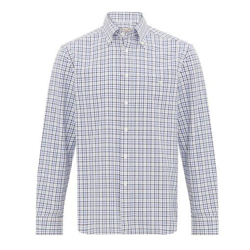 R.M Williams Jervis Shirt - Blue Check