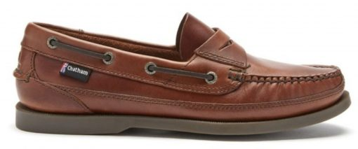 Chatham Gaff II G2  Leather Boat Shoes - Seahorse