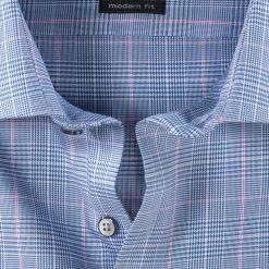 OLYMP Luxor Modern Fit Shirt - Blue