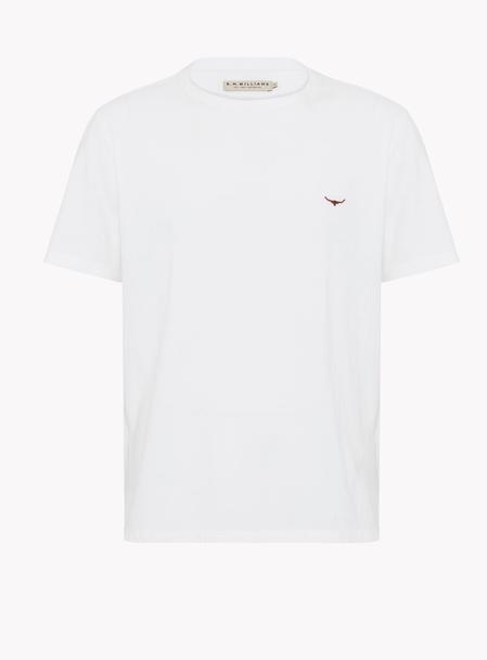 R.M Williams Parson T-Shirt - White