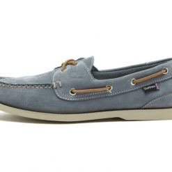 Chatham Compass II G2 Leather Boat Shoes - Sky