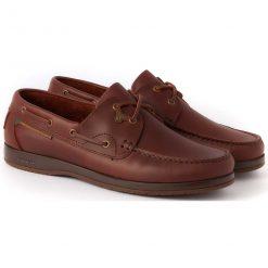 Dubarry Sailmaker X LT Deck Shoe - Mahogony