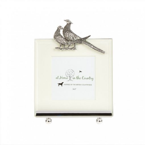 At Home In The Country Photo Frame - Two Pheasants