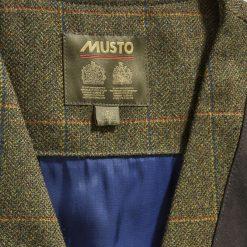 Musto Lightweight Machine Washable Tweed Waistcoat - Balmoral