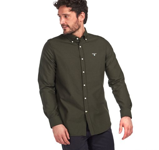 Barbour Oxford 3 Tailored Shirt -  Forest