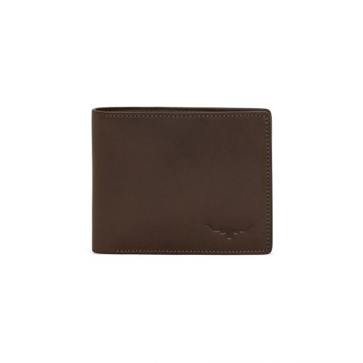 R.M Williams City Wallet With Coin Pocket - Chestnut