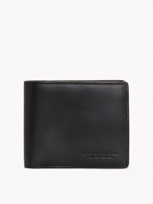 R.M Williams City Wallet Bi-Fold - Black