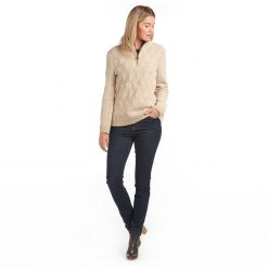 Barbour Ingham Knit - Oatmeal
