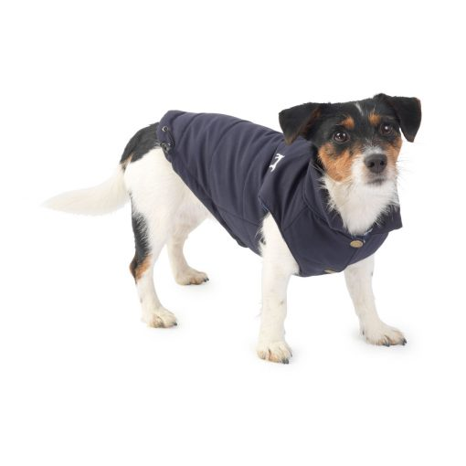 House of Paws Fleece Lined Red Gilet - Navy