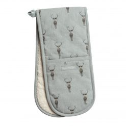 Sophie Allport Double Oven Glove - Highland Stag