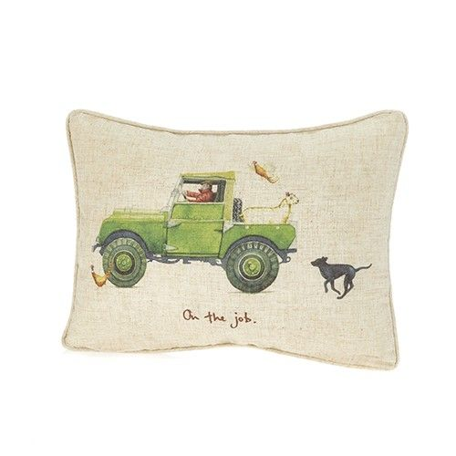 At Home In The Country Cushion - On The Job
